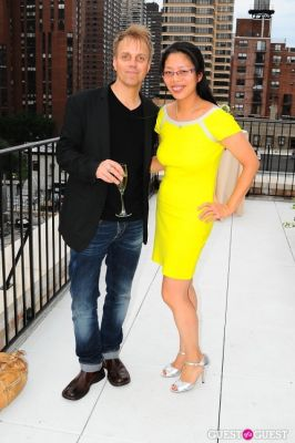 syl tang in Greystone Development 180th East 93rd Street Host The Party For The American Cancer Society