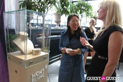 syl tang in Montblanc Press Preview