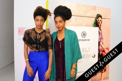 cipriana quann in Refinery 29 Style Stalking Book Release Party