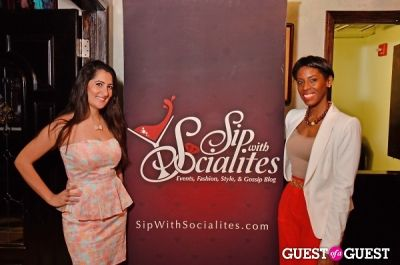 michele hudson in Sip With Socialites March Happy Hour