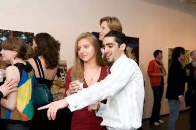 taissia basaria in Rare Gallery cocktail party