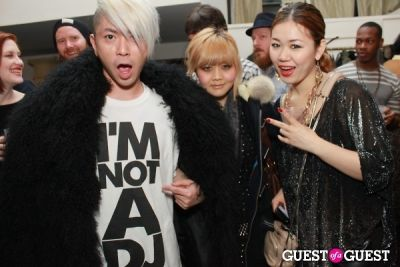 nao nishimura in Parlor Showroom 2 Year Anniversary