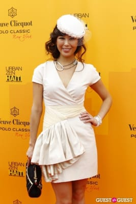 tana chung in Veuve Clicquot Polo Classic at New York