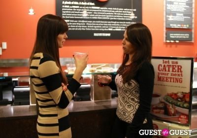 caitlin gassert in Hale and Hearty's Chef Series Taste And Toast