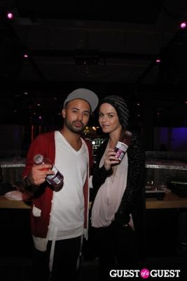 taryn manning-and-dj-eq in TLC Bags to Riches Event