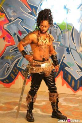 tavin parker in Graffiti Warehouse Fashion Shoot