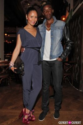 taye hansberry in Rent the Runway Event