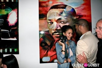 taye hansberry in Prophets & Assassins: The Quest for Love and Immortality Opening Reception