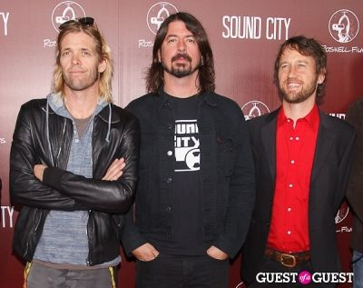 taylor hawkins in Sound City Los Angeles Premiere