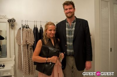 taylor larson in FNO Celebrates The Opening Of Alexander Berardi New York Flagship Boutique