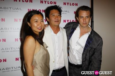 bobby ahn in NYLON Music Issue Party