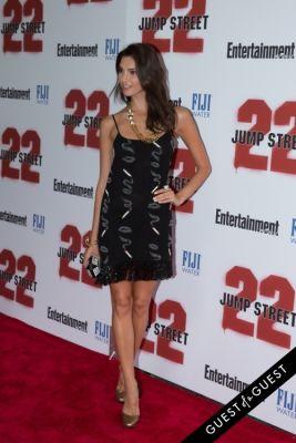 teresa moore in 22 Jump Street Premiere