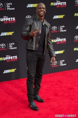 terry crews in Premiere Of Disney's