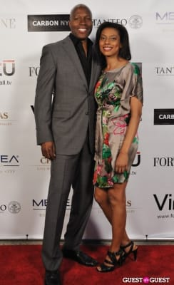 terry lyon in Carbon NYC Spring Charity Soiree