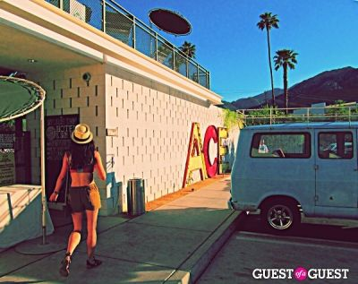 the ace-hotel in Everything Coachella: Backstage & On Stage & Secret After Show Performances & VIP Pool Parties