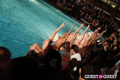 the aqualillies in MINX SOCIETY's One Year Anniversary Party