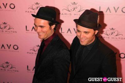 the e.c.twins in PARIS HILTON'S 30TH BIRTHDAY