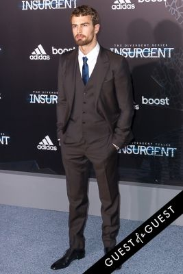 theo james in Insurgent Premiere NYC