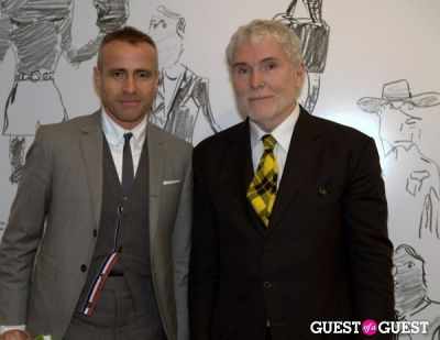 thom browne in How To Be A Man Book Launch