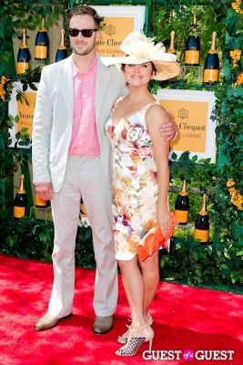 tiffani thiessen in Veuve Clicquot Polo Classic 2013