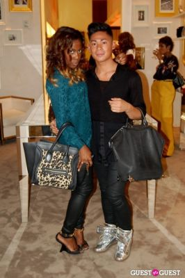 ej briones in Fashion's Night Out NYC 2012