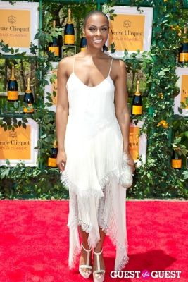 tika sumpter in Veuve Clicquot Polo Classic 2013