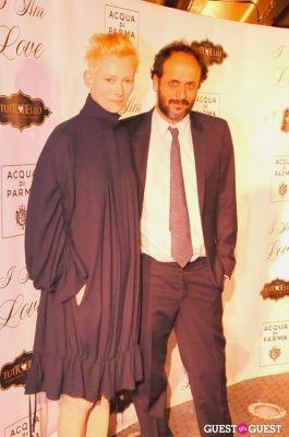 luca guadagnino in NY Premiere of I AM LOVE