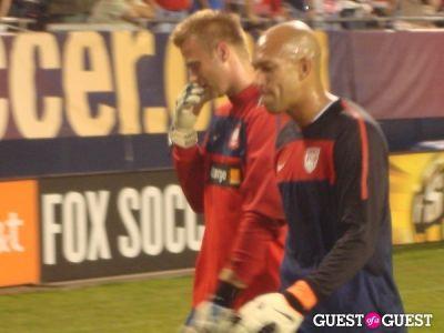 tim howard in US v. Poland Soccer