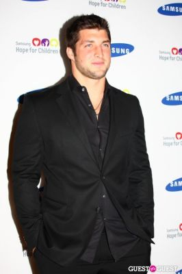 tim tebow in Samsung 11th Annual Hope for Children Gala