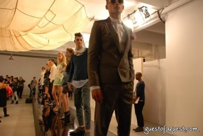alan eckstein in Timo Weiland Showcase - Spring 2010