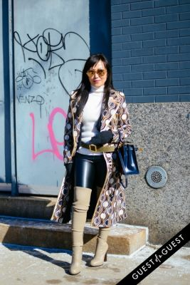 tina craig in NYFW Street Style Day 1