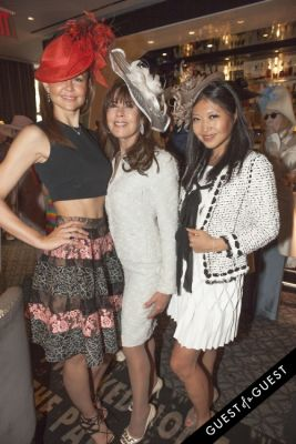 tina storper in Socialite Michelle-Marie Heinemann hosts 6th annual Bellini and Bloody Mary Hat Party sponsored by Old Fashioned Mom Magazine