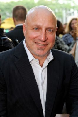 tom colicchio in Bryant Park Southwest Porch Opening