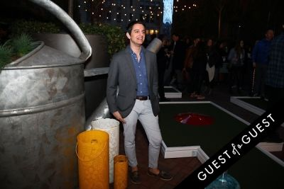 tom strong-grinsell in Hudson Hotel Putt Putt Park Launch
