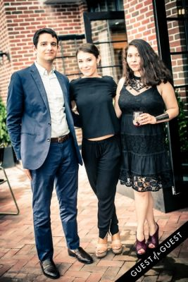 tom strong-grinsell in Guest of a Guest & Cointreau's NYC Summer Soiree At The Ludlow Penthouse Part II
