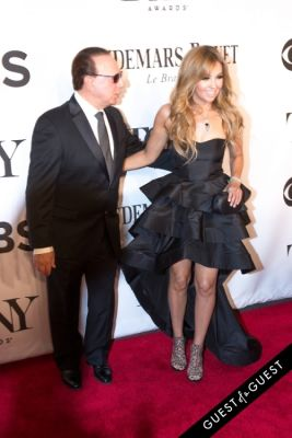 tommy mottola in The Tony Awards 2014