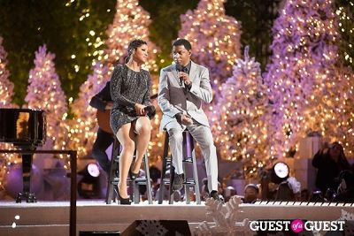toni braxton in The Grove's 11th Annual Christmas Tree Lighting Spectacular Presented by Citi