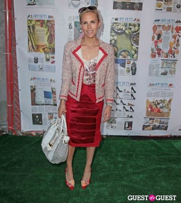 tory burch in Wall Street Journal Off Duty Party