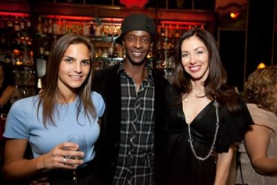 edi gathegi in Supper Club Dinner Party 2.7.11