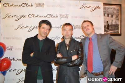 travis kalanick in Cloture Club at George