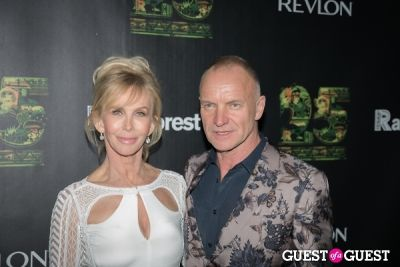 sting in Revlon Concert For The Rainforest Fund Arrivals