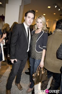 tyler burrow in Alice and Olivia Opening