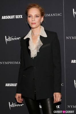 uma thurman in New York Premiere of Magnolia Pictures' Nymphomaniac:Volume One