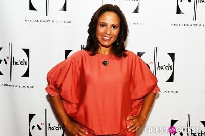 vive katerin in HaChi Restaurant and Lounge Opening