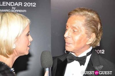 valentino in Pirelli Celebrates 2012 Calendar Launch