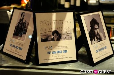 rock paper-photo in V&M and Andy Hilfiger Exclusive Preview Event of The V&M Rock Shop