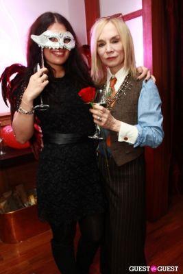vanda kabay in R. Couri Hay's Le Bal Vampire II Halloween party at home 2010