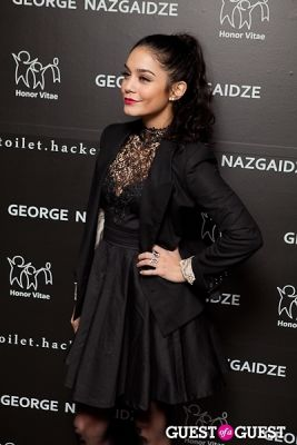 vanessa hudgens in Honor Vitae Charity Meets Fashion Fundraiser