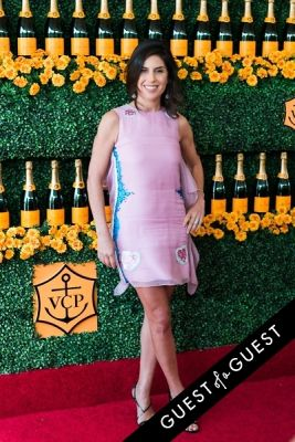 vanessa kay in The Sixth Annual Veuve Clicquot Polo Classic Red Carpet