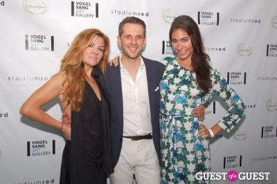 eve xanthopoulos in Vogelsang Gallery After- Hamptons Fair Cocktail Party